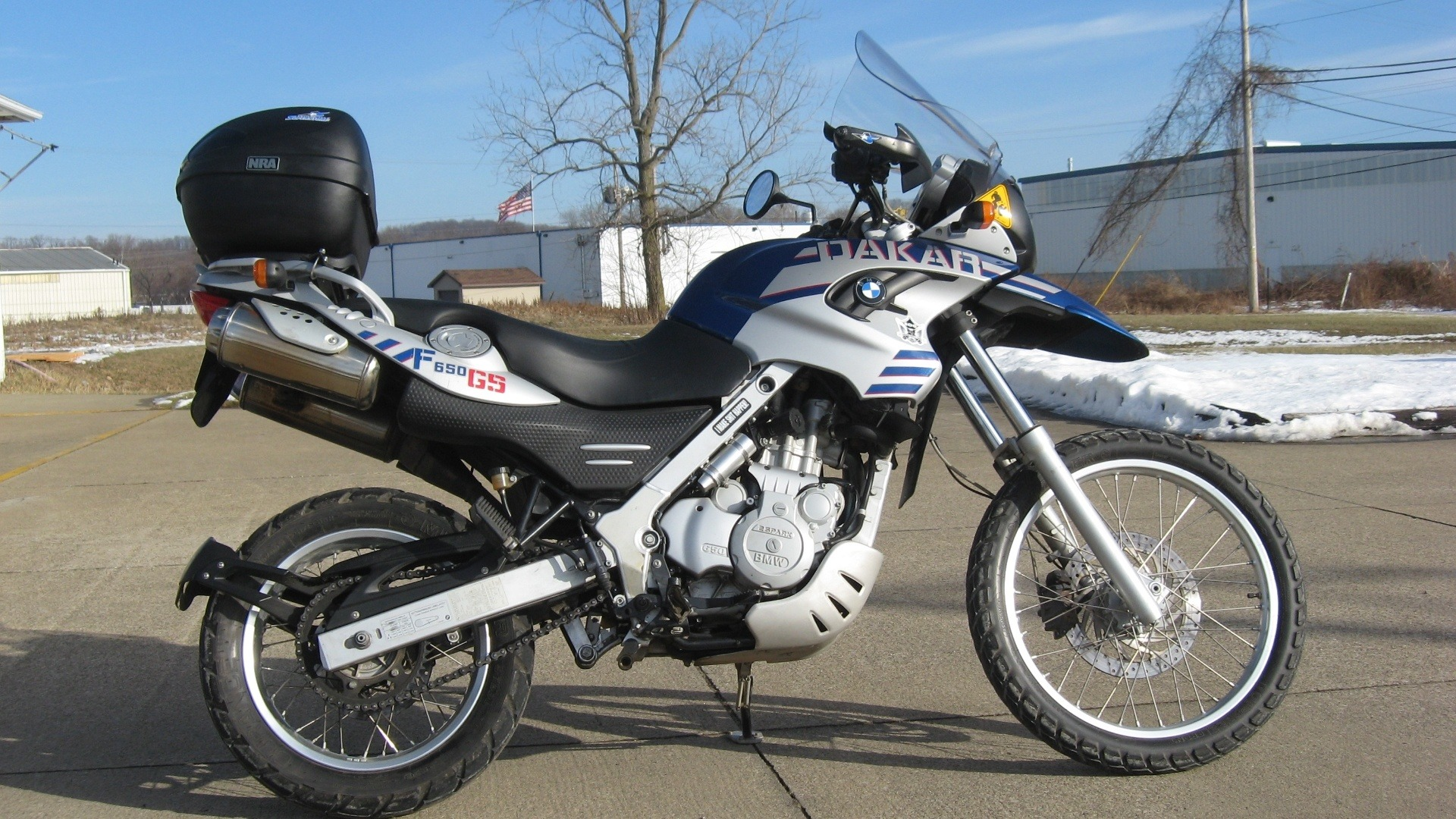 New 2005 Bmw F650gs Dakar Motorcycles In New Philadelphia Oh