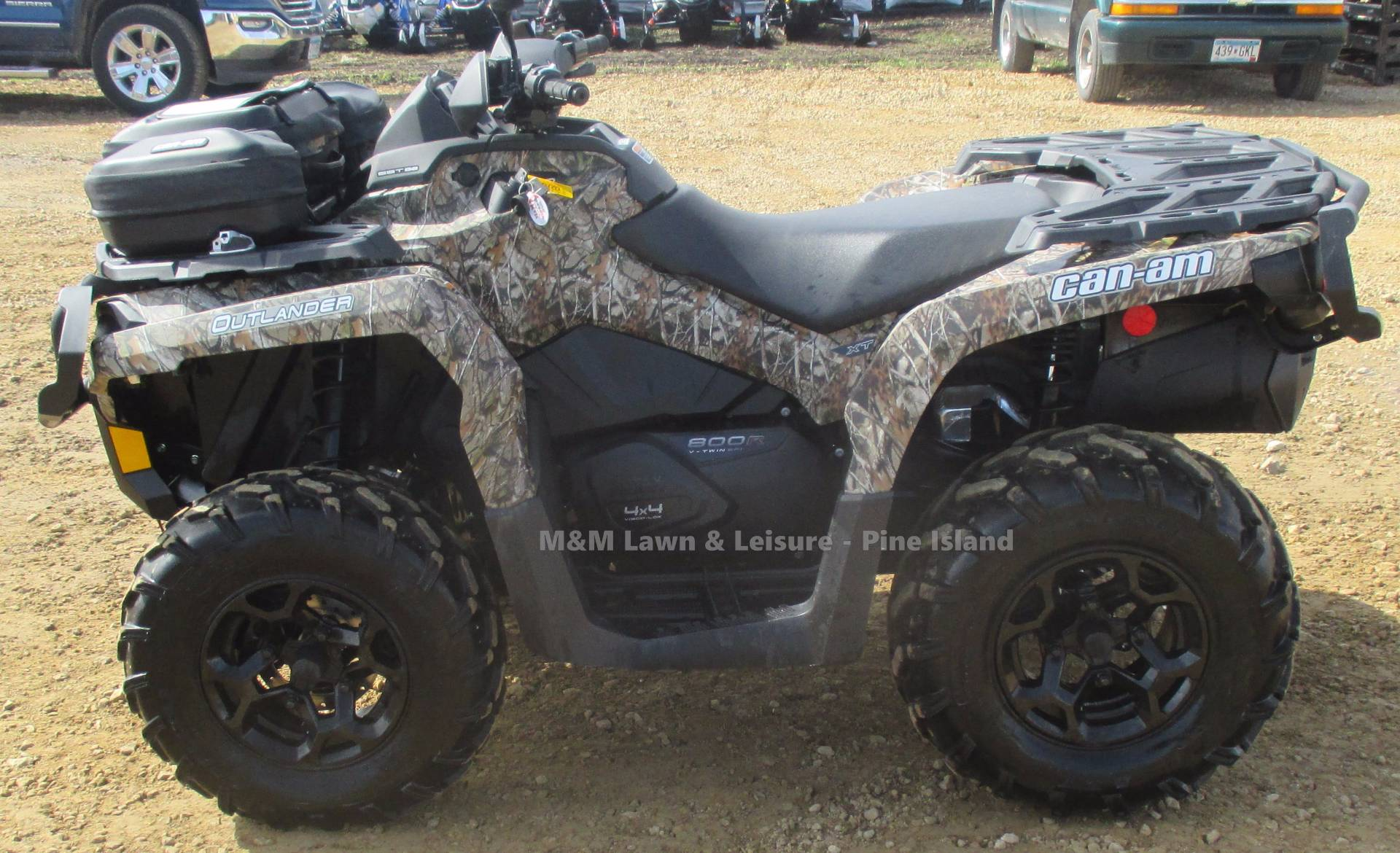 2012 Can-Am Outlander 800R XT for sale 1744