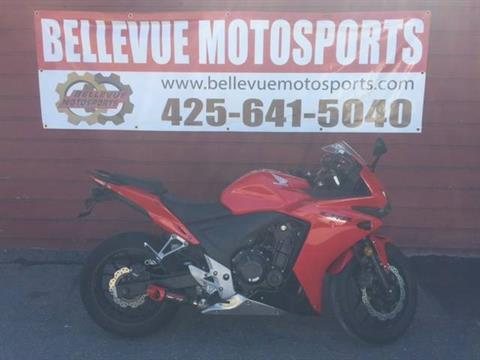 2013 Honda CBR®500R ABS in Bellevue, Washington