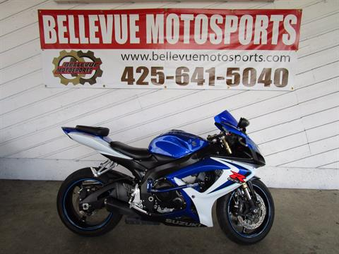 2006 Suzuki GSX-R600™ in Bellevue, Washington