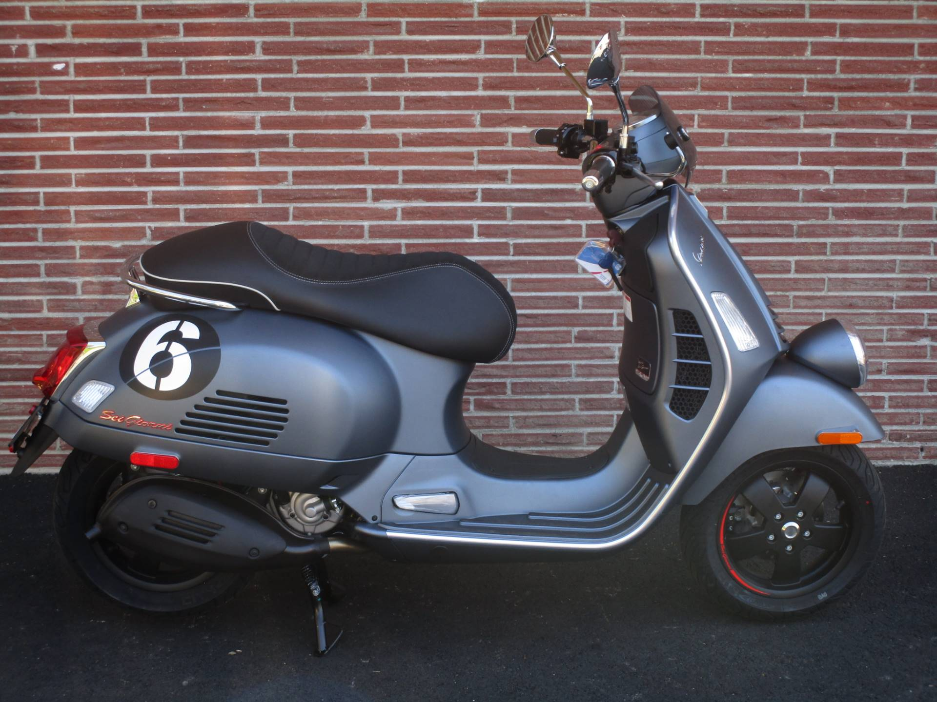 2020 Vespa Sei Giorni 300 in Bellevue, Washington - Photo 7