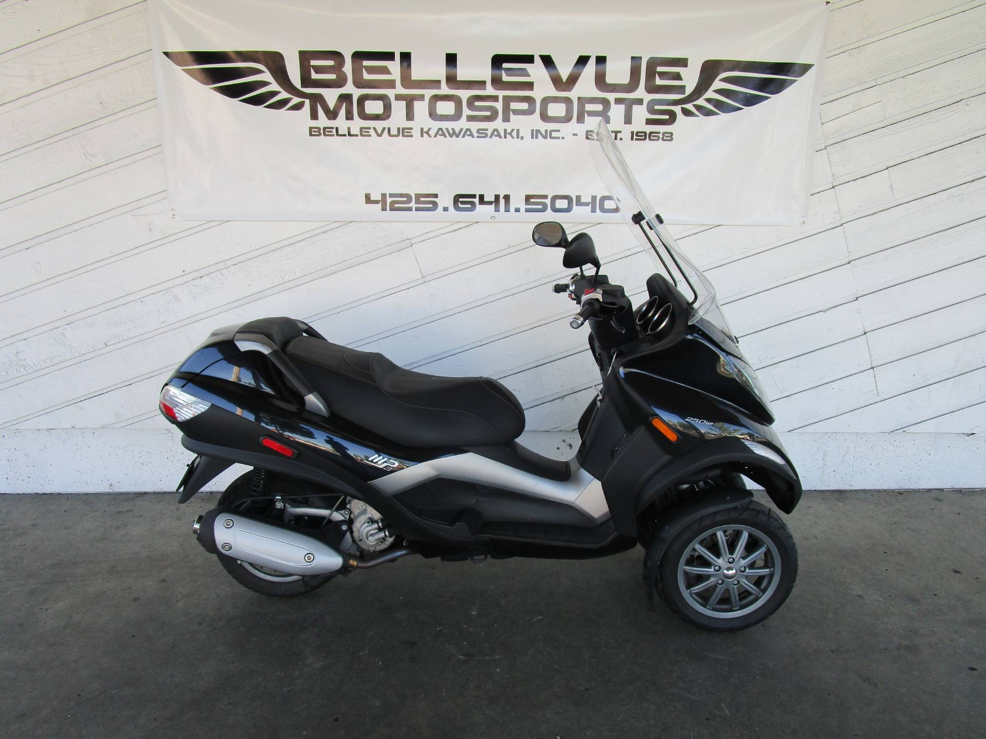Used 2009 Piaggio MP3 250 Scooters in Bellevue, WA | Stock Number: N/A
