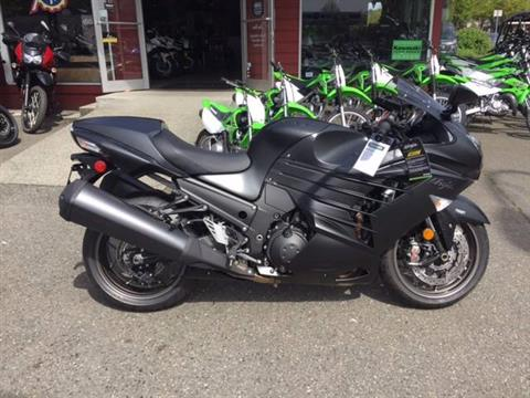2016 Kawasaki Ninja ZX-14R ABS SE Metallic Matte Carbon Gray in Bellevue, Washington