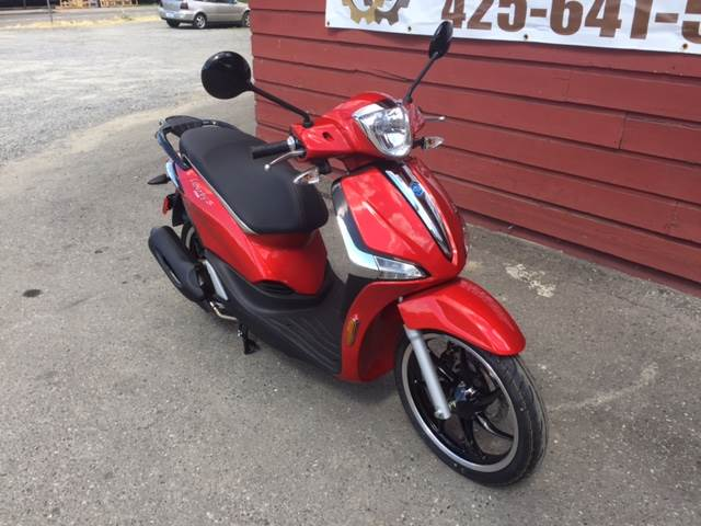 2018 Piaggio Liberty 150 S iGet ei ABS in Bellevue, Washington