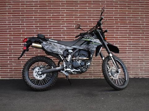 2019 Kawasaki KLX 250 Camo in Bellevue, Washington - Photo 1