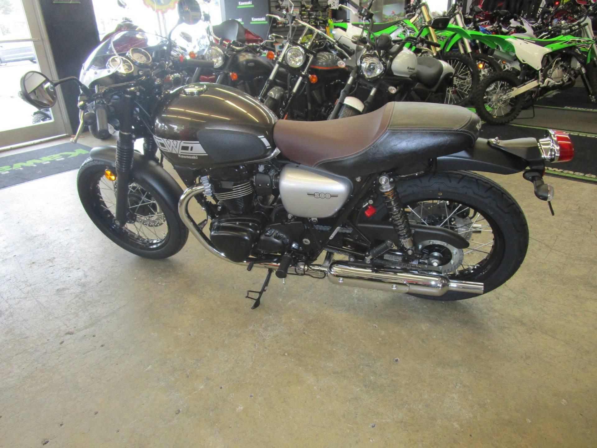 New 2019 Kawasaki W800 Cafe Motorcycles In Bellevue Wa Stock