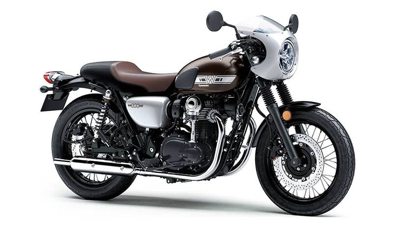 2019 Kawasaki W800 Cafe in Bellevue, Washington - Photo 1