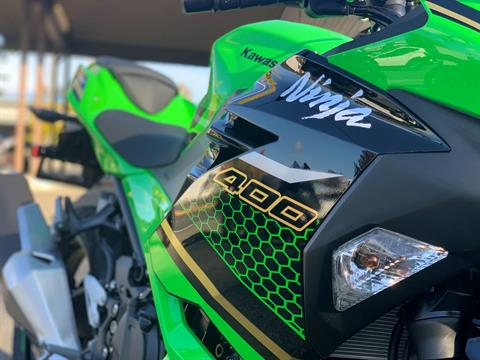 2020 Kawasaki Ninja 400 ABS KRT Edition in Bellevue, Washington - Photo 5