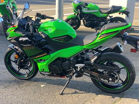 2020 Kawasaki Ninja 400 ABS KRT Edition in Bellevue, Washington - Photo 16
