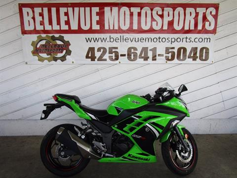 2014 Kawasaki Ninja® 300 ABS SE in Bellevue, Washington