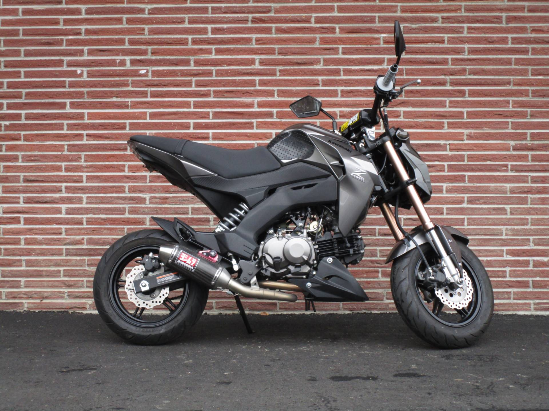 2018 Kawasaki Z125 Pro in Bellevue, Washington - Photo 1