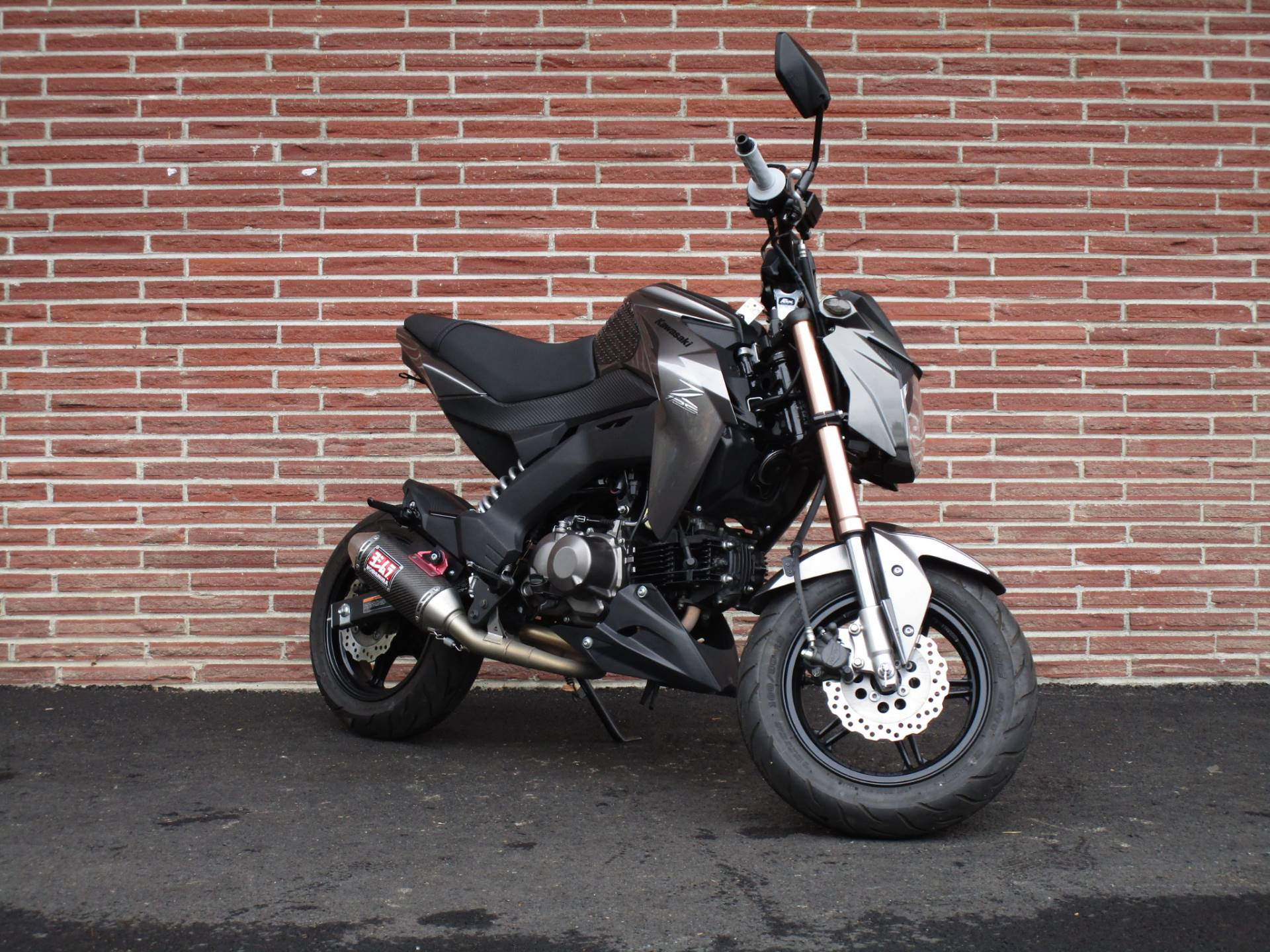 2018 Kawasaki Z125 Pro in Bellevue, Washington - Photo 2