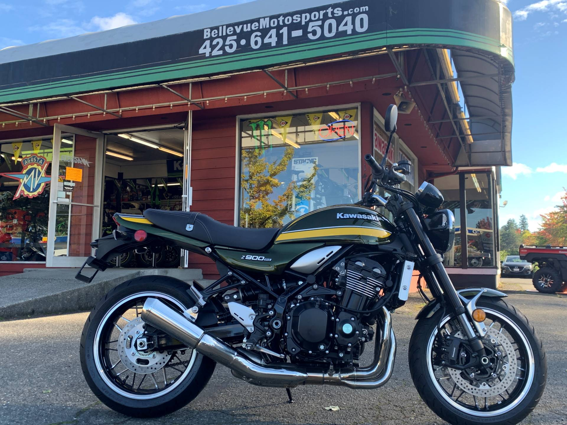 2020 Kawasaki Z900RS ABS in Bellevue, Washington - Photo 1