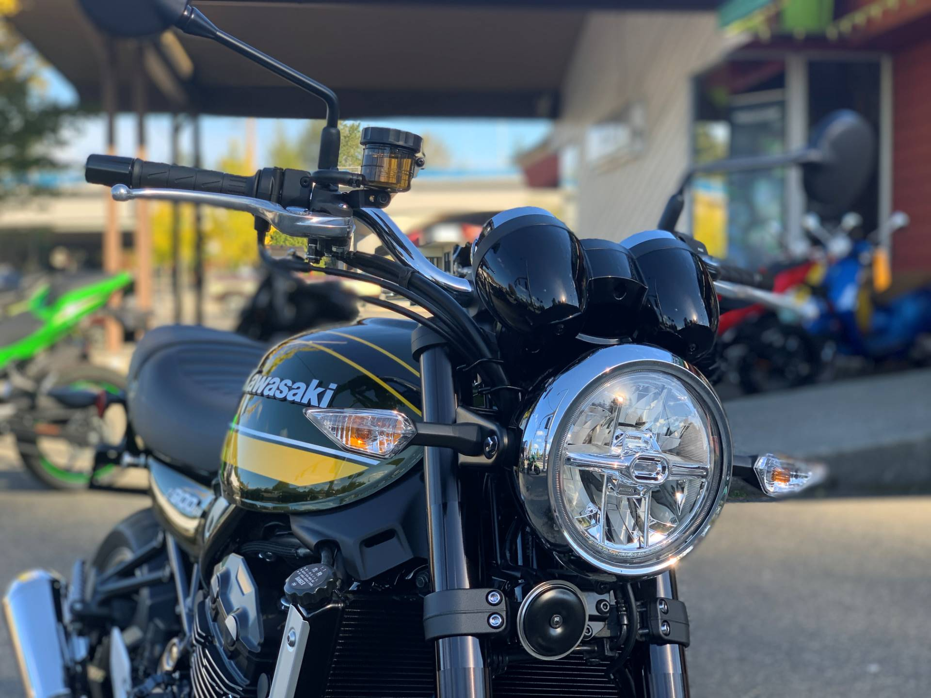 2020 Kawasaki Z900RS ABS in Bellevue, Washington - Photo 2