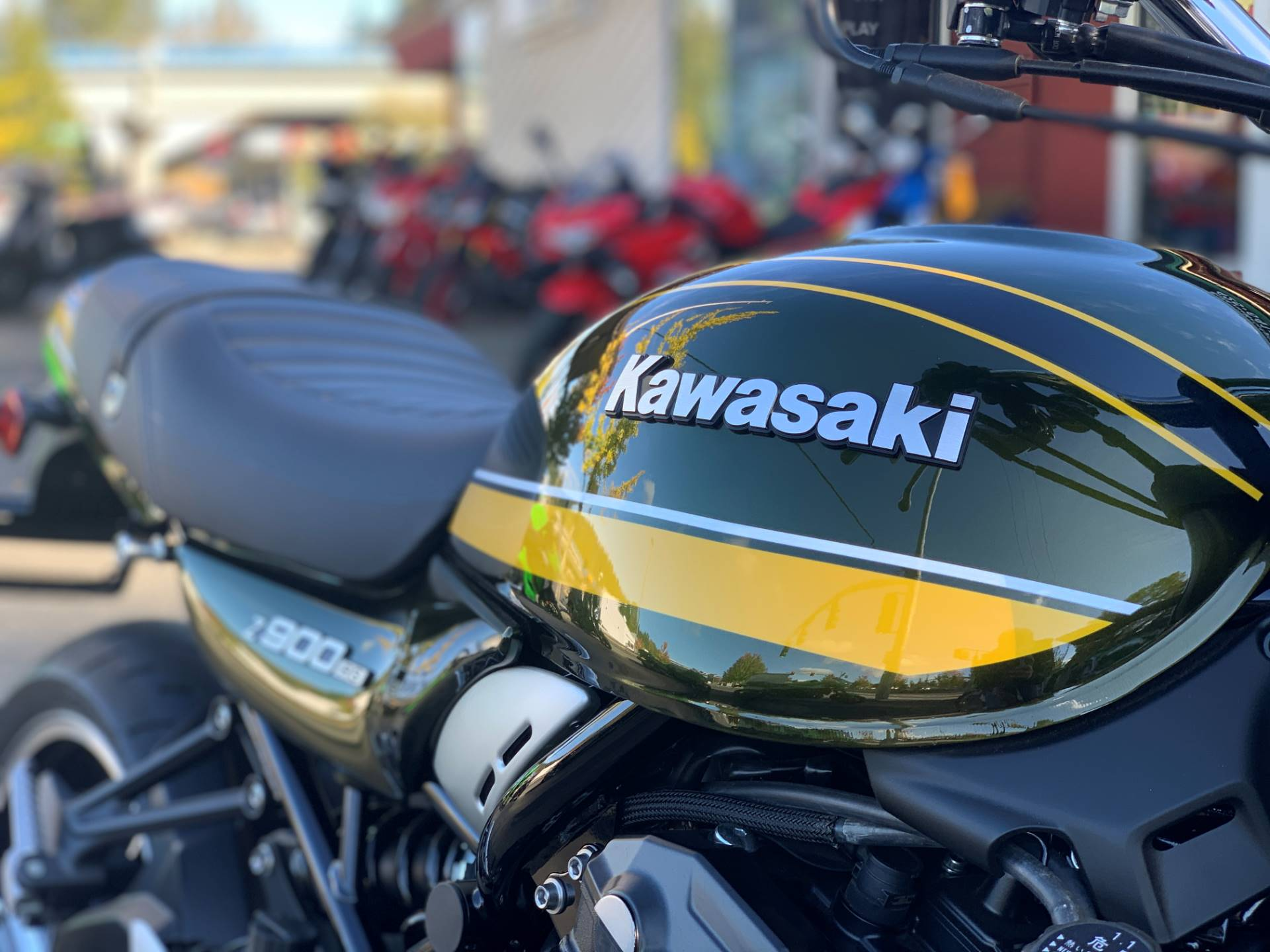 2020 Kawasaki Z900RS ABS in Bellevue, Washington - Photo 5