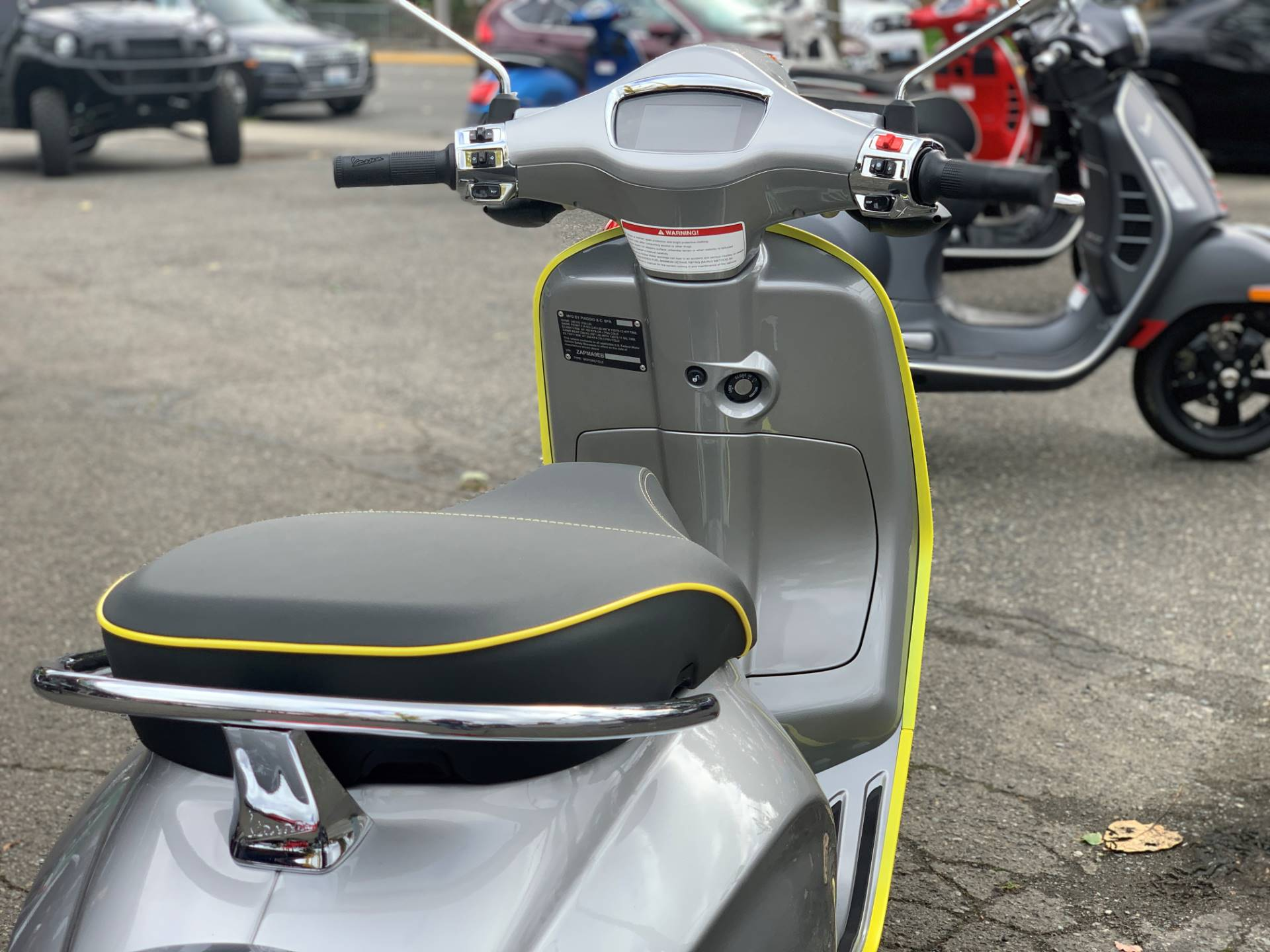 2021 Vespa Elettrica 45 MPH in Bellevue, Washington - Photo 6