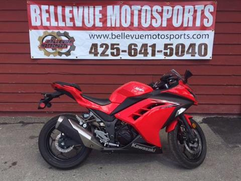 2016 Kawasaki Ninja 300 ABS in Bellevue, Washington