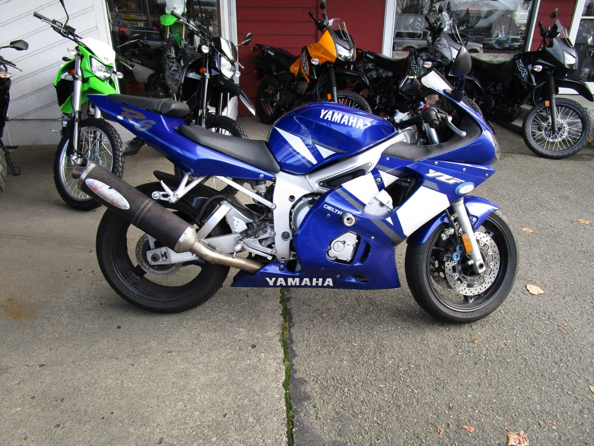 2001 Yamaha YZF-R6 in Bellevue, Washington
