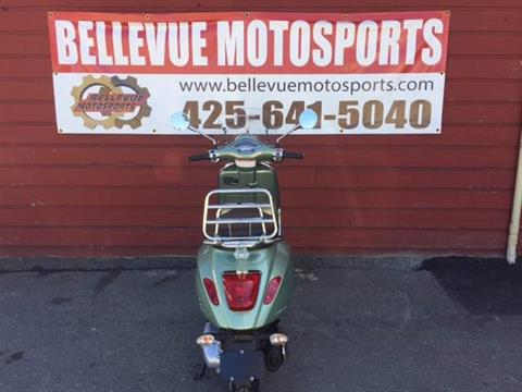 2017 Vespa Primavera 150 Touring in Bellevue, Washington