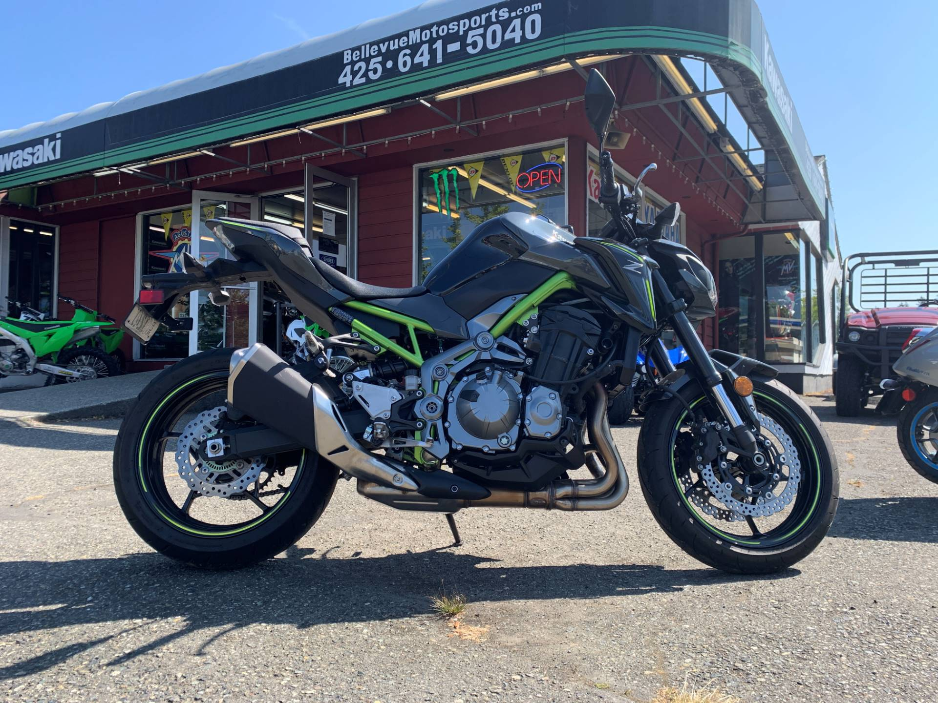 2017 Kawasaki Z900 in Bellevue, Washington - Photo 1