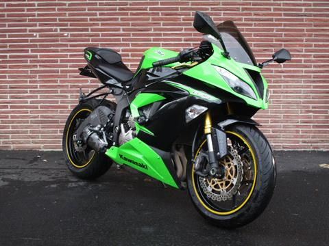 2013 Kawasaki Ninja® ZX™-6R ABS in Bellevue, Washington - Photo 1