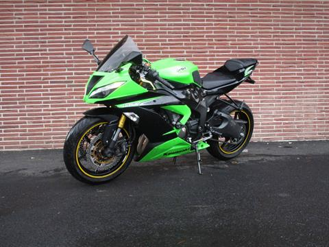 2013 Kawasaki Ninja® ZX™-6R ABS in Bellevue, Washington - Photo 5