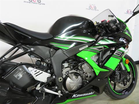 2017 Kawasaki Ninja ZX-6R ABS KRT EDITION in Sanford, Florida - Photo 18
