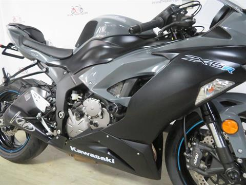 2019 Kawasaki Ninja ZX-6R ABS in Sanford, Florida - Photo 18