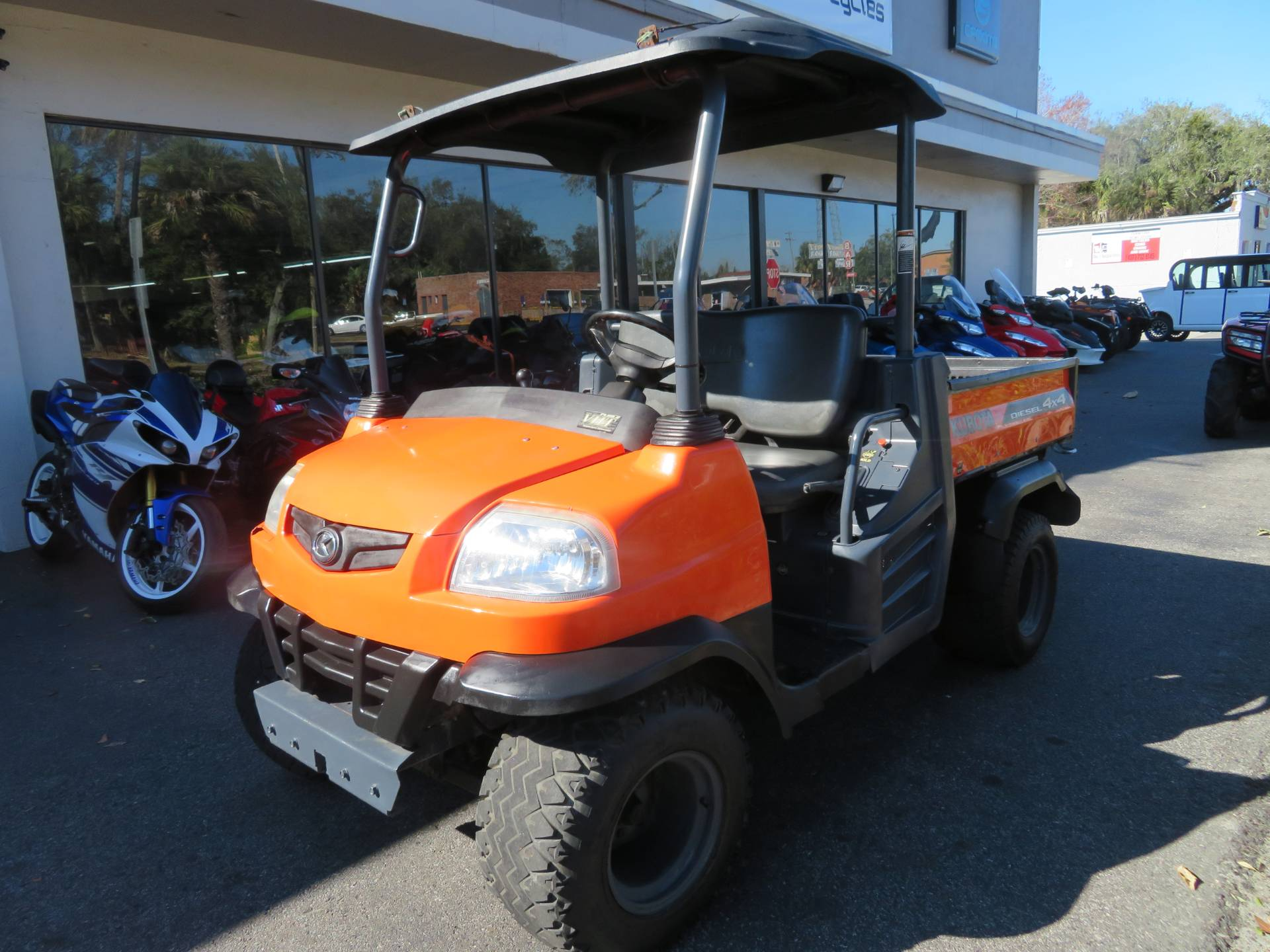 2013 Kubota RTV900XT Utility (Orange) in Sanford, Florida - Photo 6