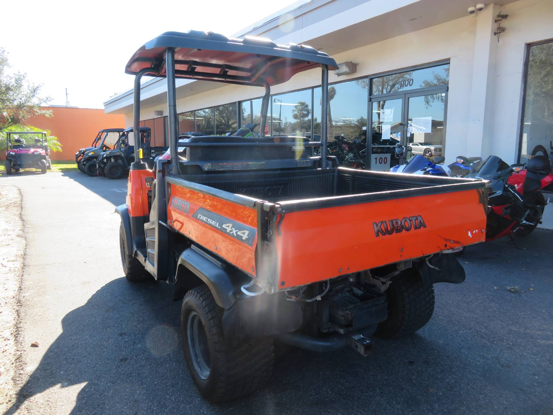 2013 Kubota RTV900XT Utility (Orange) in Sanford, Florida - Photo 8