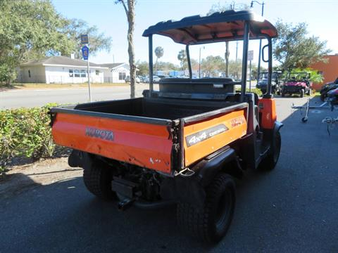 2013 Kubota RTV900XT Utility (Orange) in Sanford, Florida - Photo 10