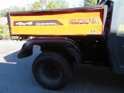 2013 Kubota RTV900XT Utility (Orange) in Sanford, Florida - Photo 11