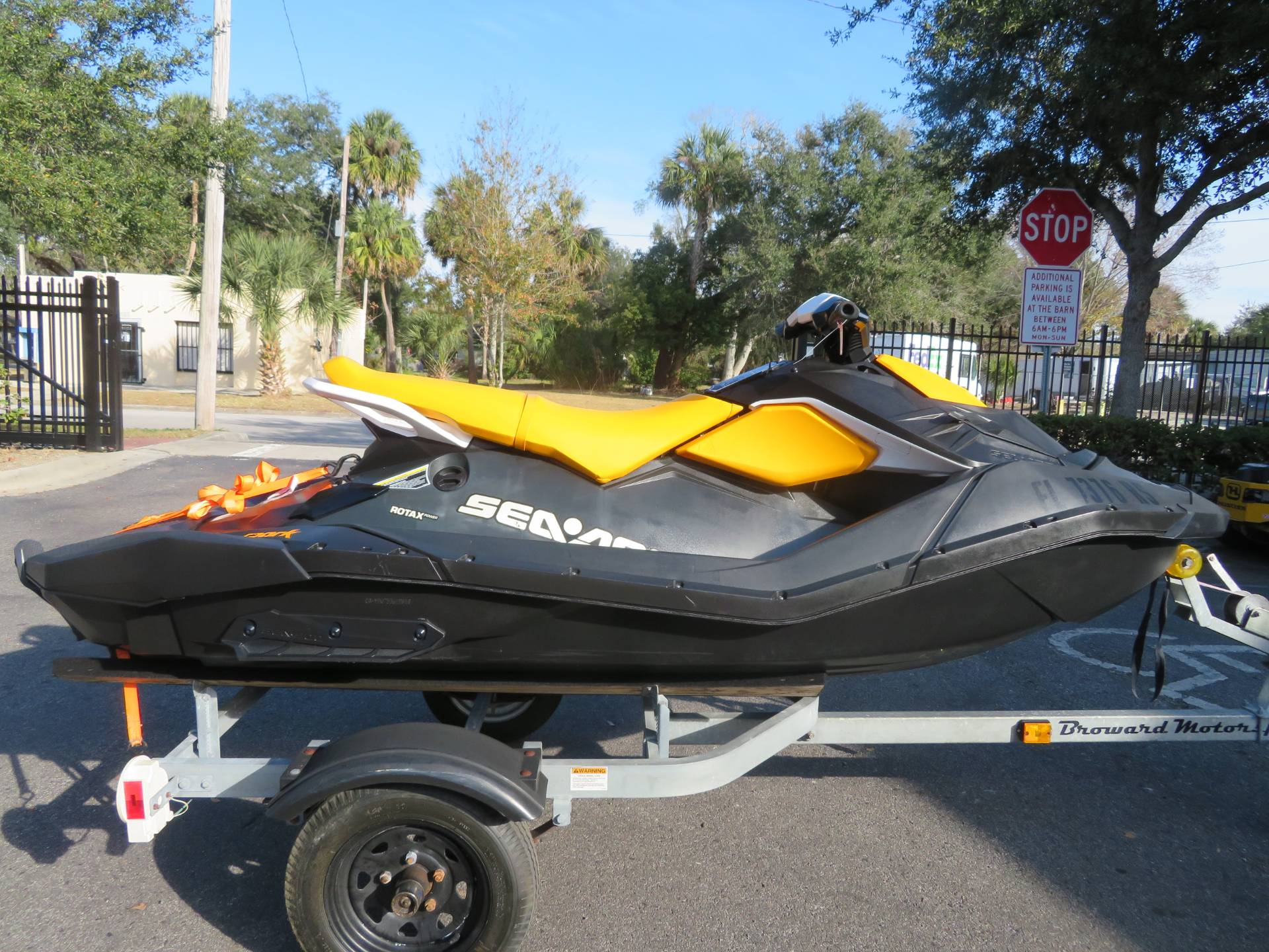 2018 Sea-Doo SPARK 3up 900 H.O. ACE iBR + Convenience Package in Sanford, Florida - Photo 1