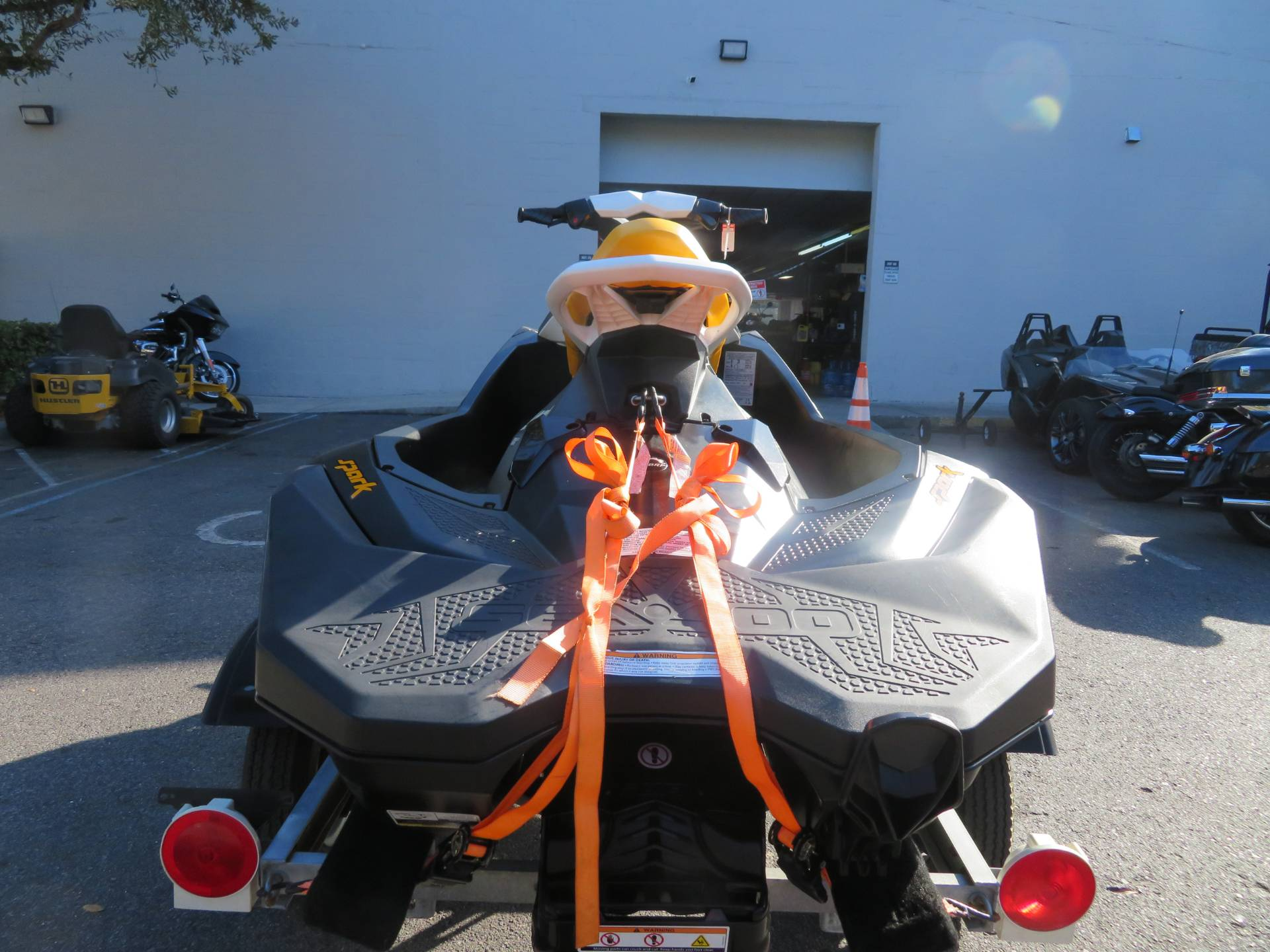 2018 Sea-Doo SPARK 3up 900 H.O. ACE iBR + Convenience Package in Sanford, Florida - Photo 9