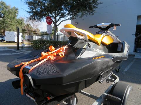 2018 Sea-Doo SPARK 3up 900 H.O. ACE iBR + Convenience Package in Sanford, Florida - Photo 10
