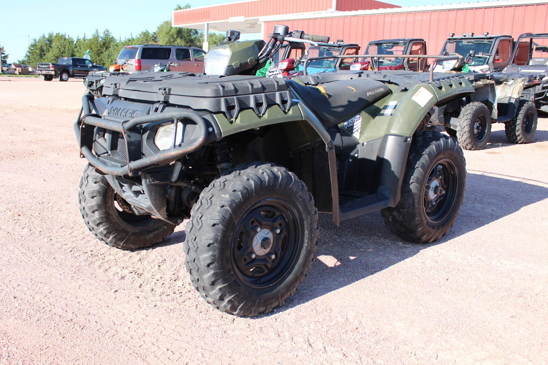 2013 Polaris Sportsman® 550 in Valentine, Nebraska - Photo 2
