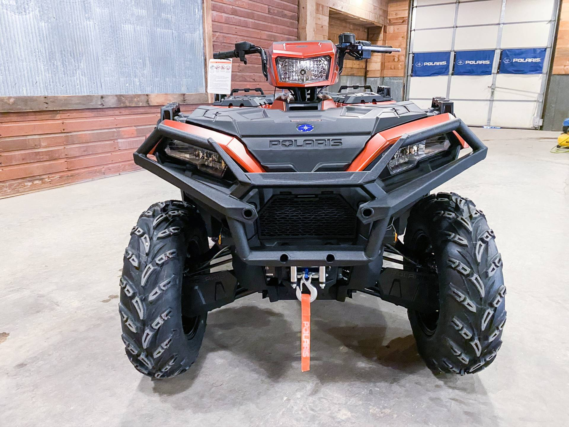 2021 Polaris Sportsman 850 Premium Trail Package in Valentine, Nebraska - Photo 2