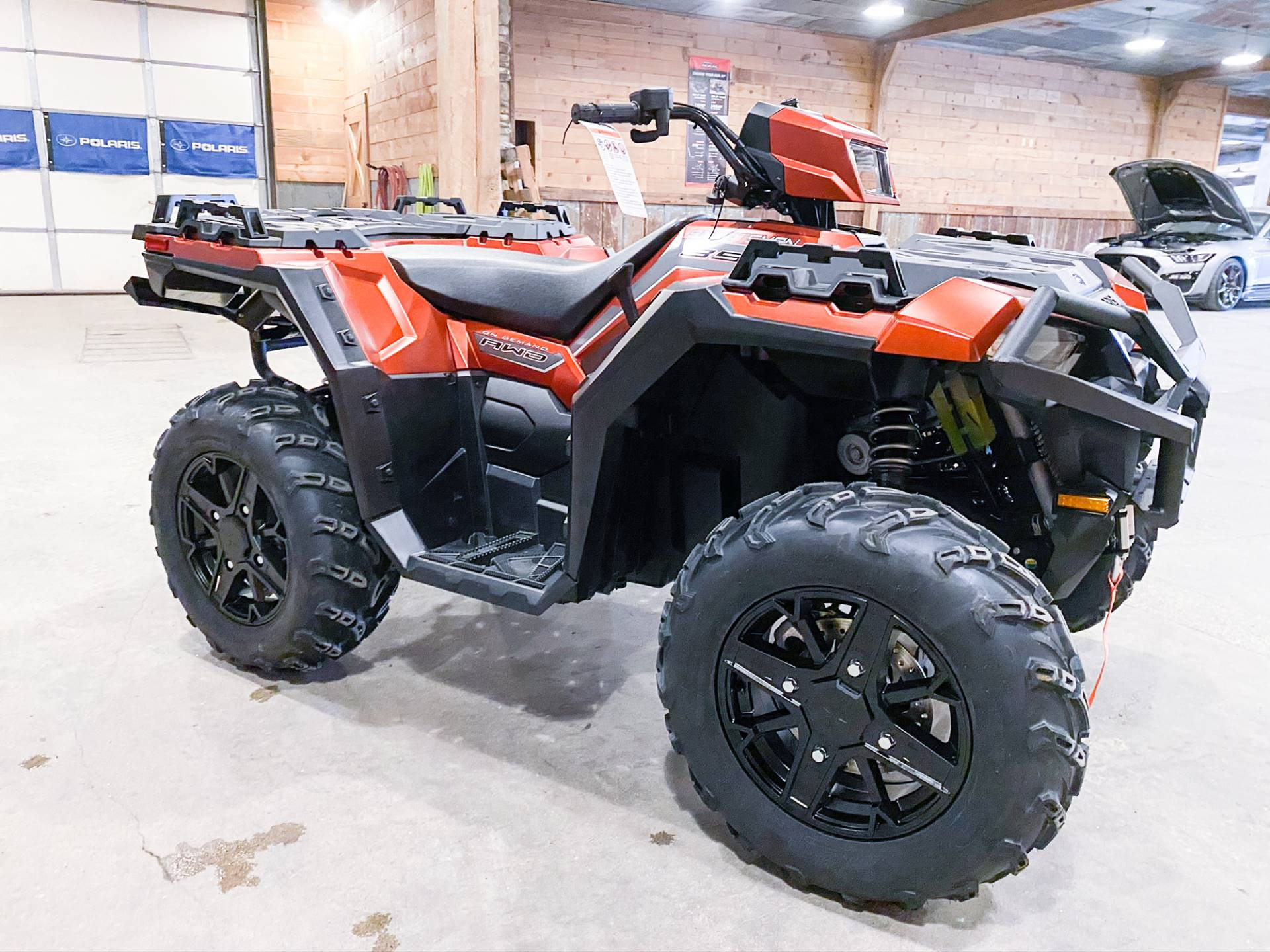 2021 Polaris Sportsman 850 Premium Trail Package in Valentine, Nebraska - Photo 3