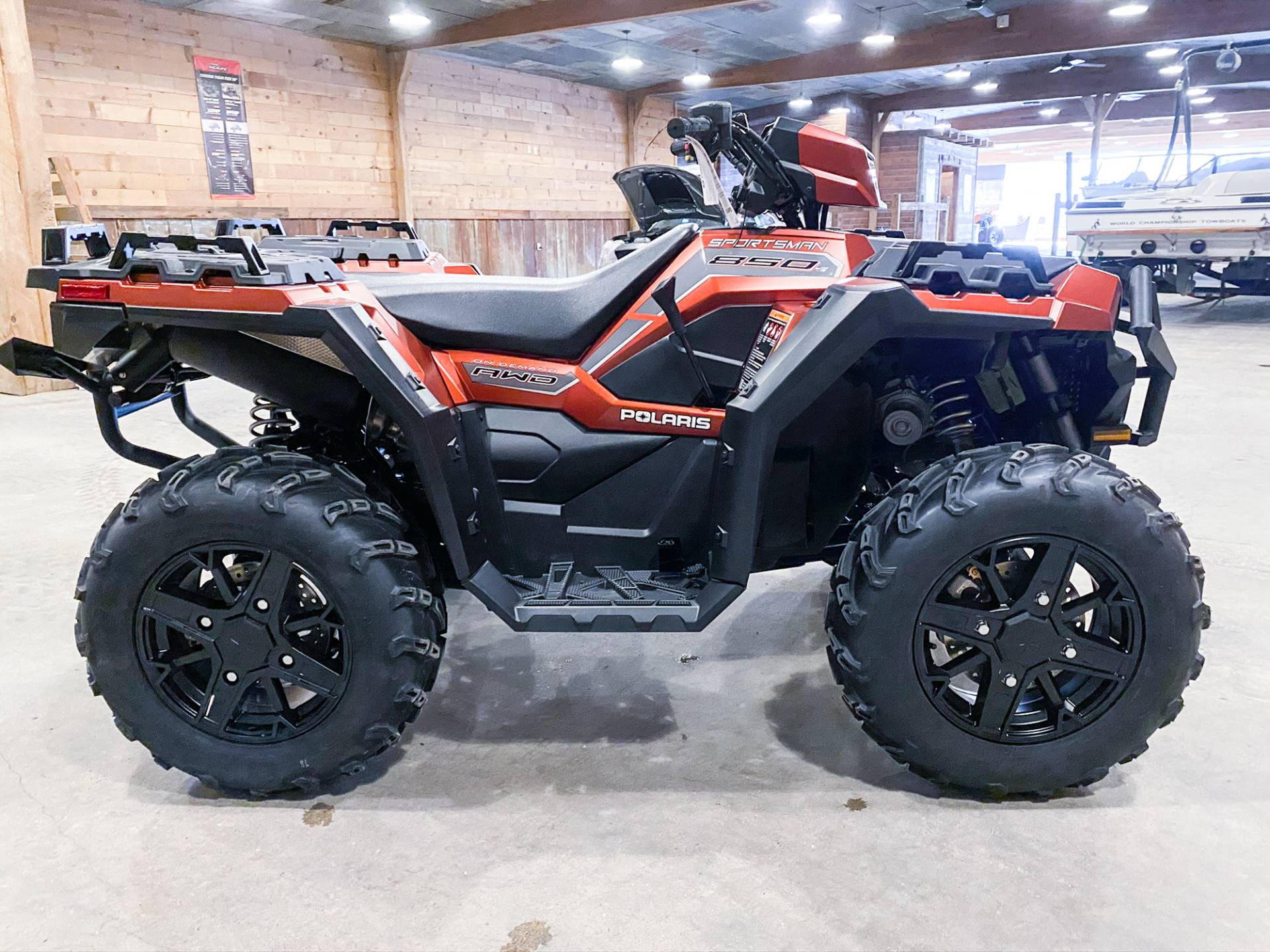 2021 Polaris Sportsman 850 Premium Trail Package in Valentine, Nebraska - Photo 4