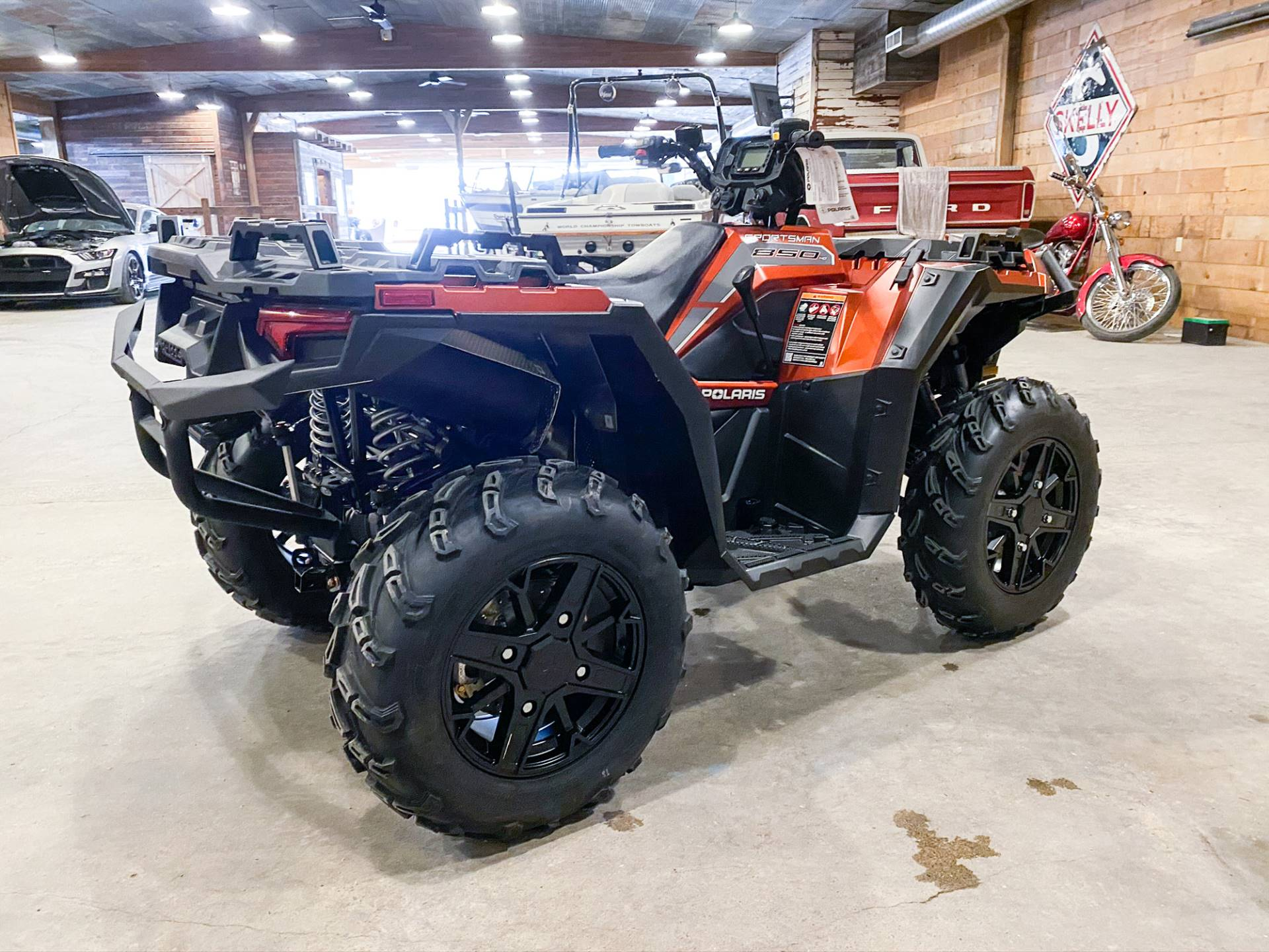 2021 Polaris Sportsman 850 Premium Trail Package in Valentine, Nebraska - Photo 5