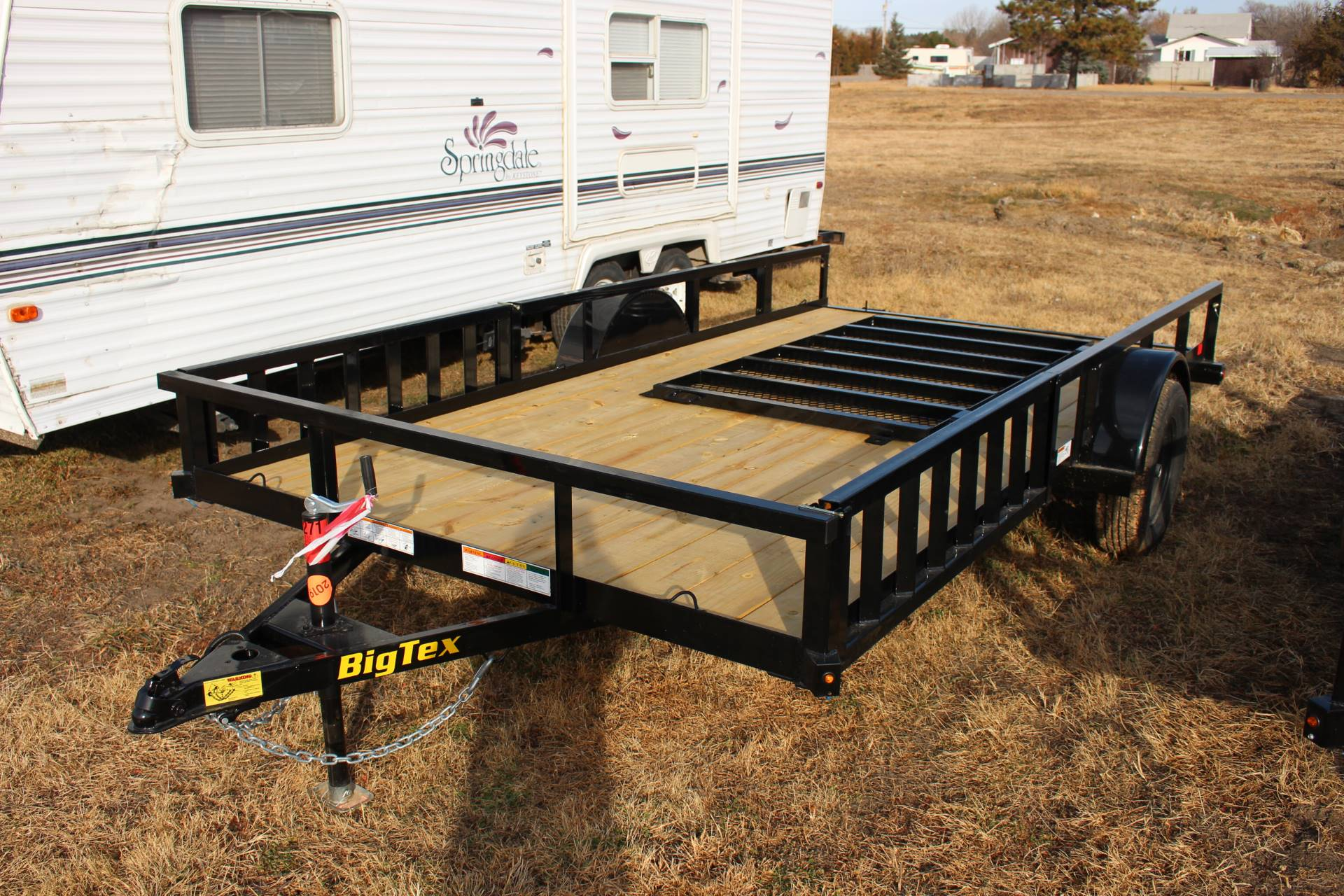 2020 Big Tex Trailers 14' SINGLE AXLE in Valentine, Nebraska - Photo 1