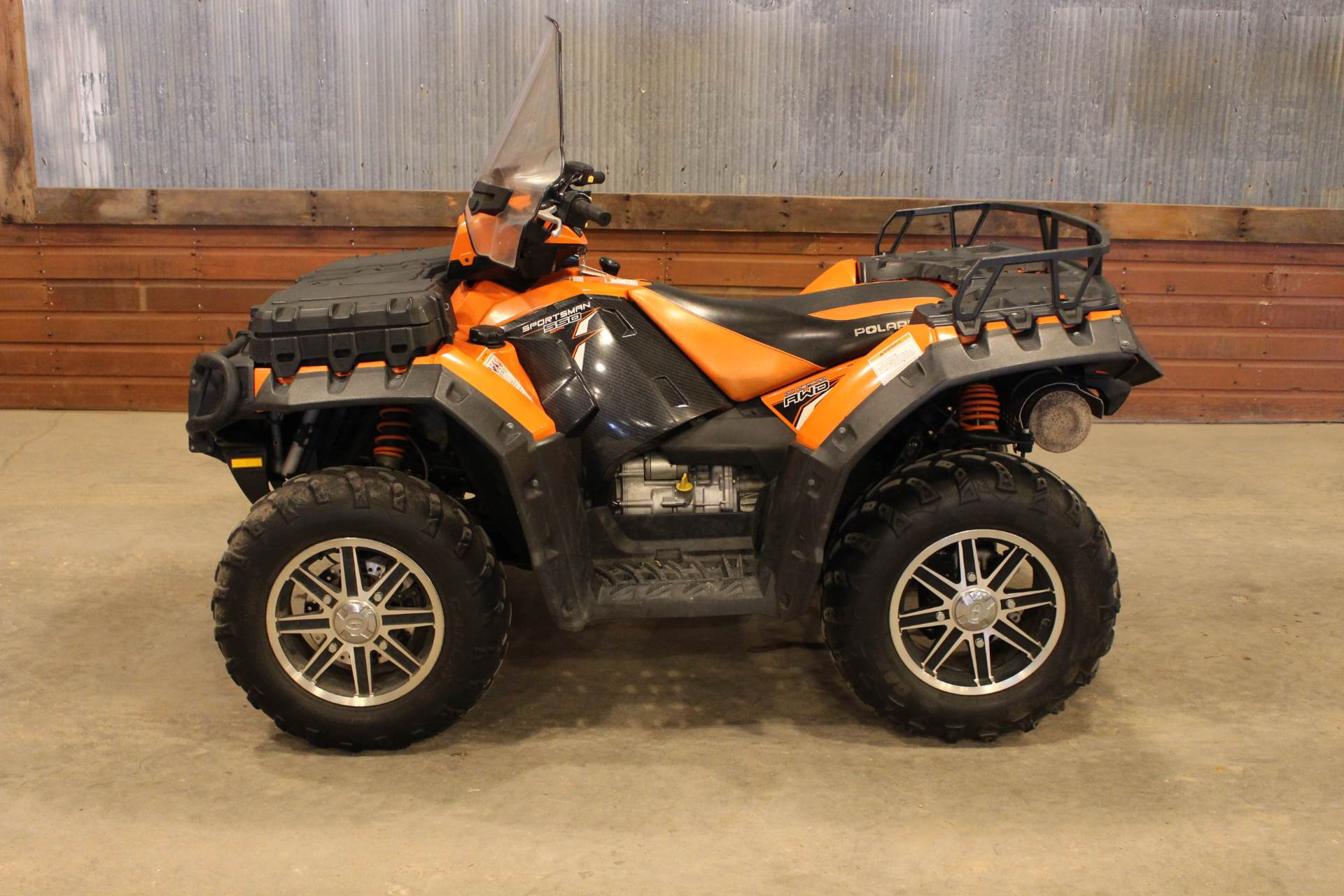 2012 Polaris Sportsman® 550 EPS LE in Valentine, Nebraska - Photo 1