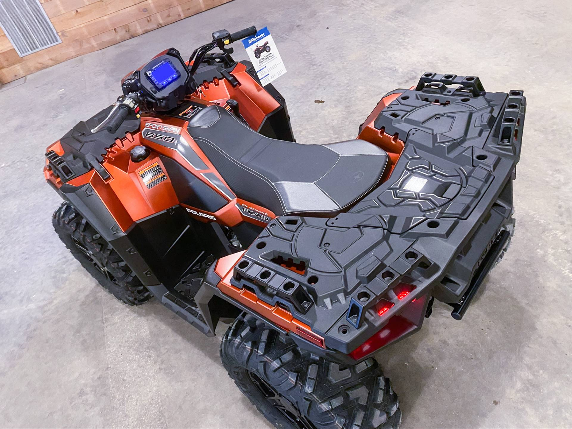 2020 Polaris Sportsman 850 Premium Trail Package in Valentine, Nebraska - Photo 9