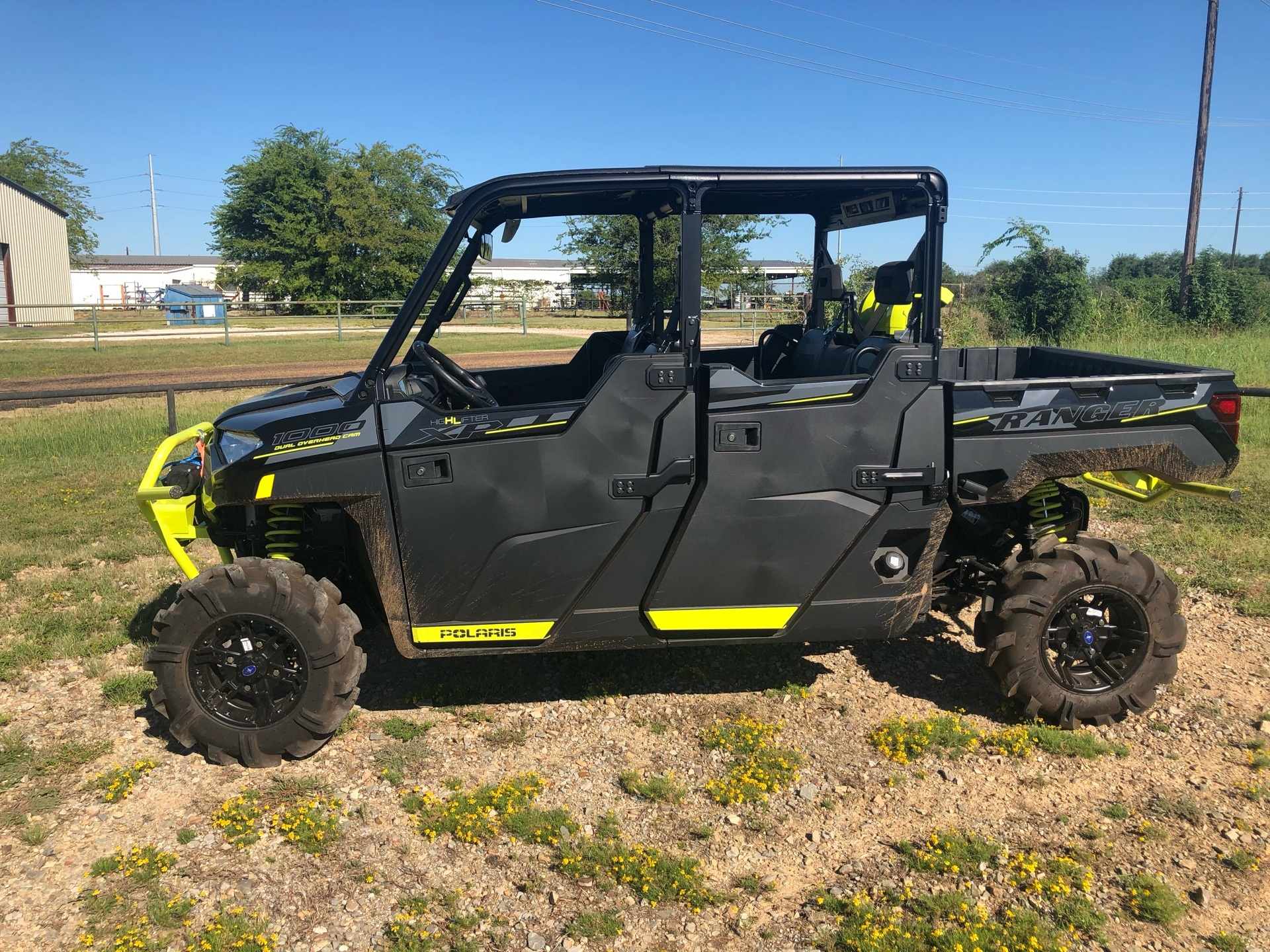 2020 Polaris Ranger Crew XP 1000 High Lifter Edition in Mount Pleasant, Texas - Photo 2