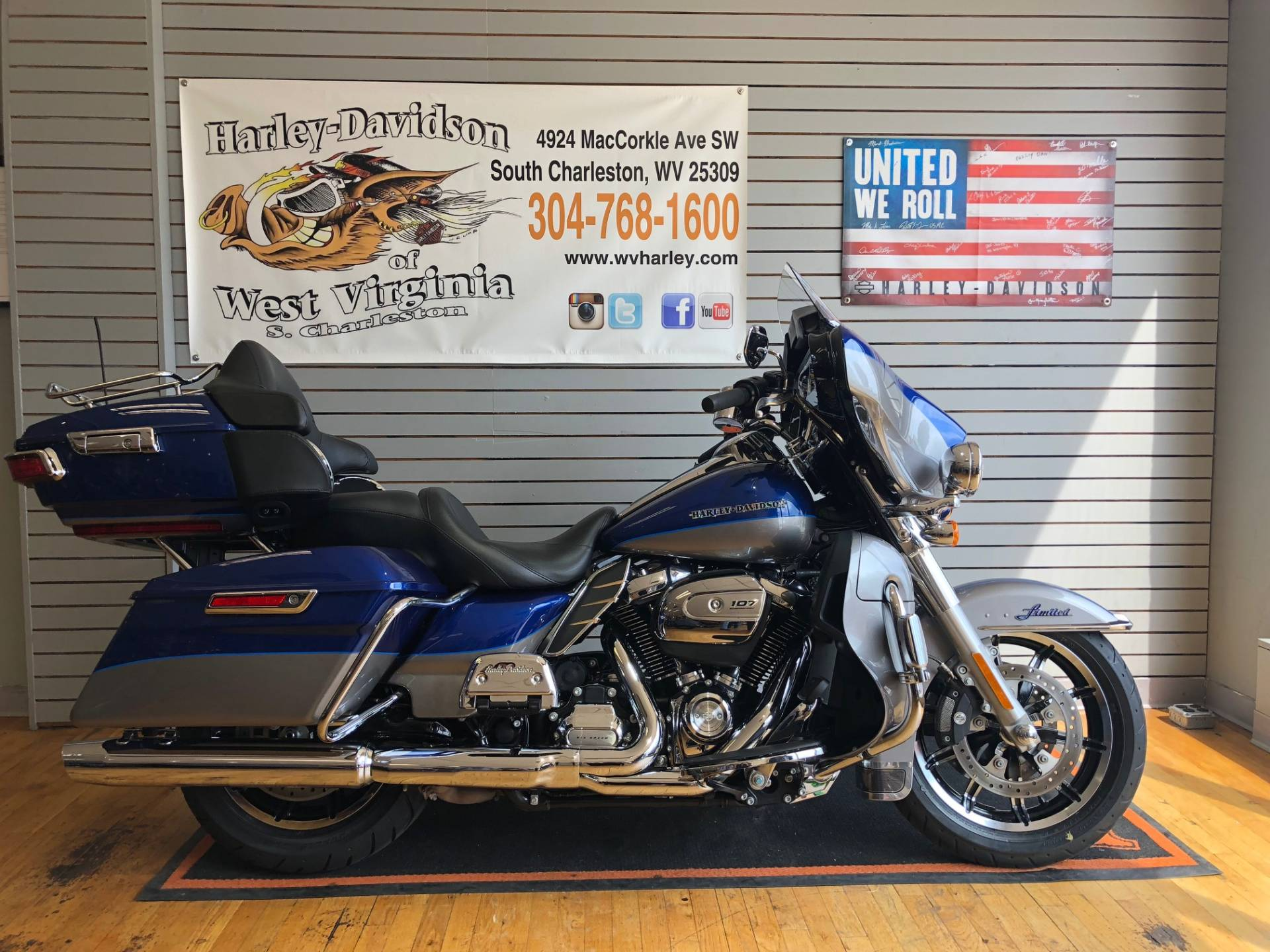 2017 Harley-Davidson Ultra Limited in South Charleston, West Virginia - Photo 1