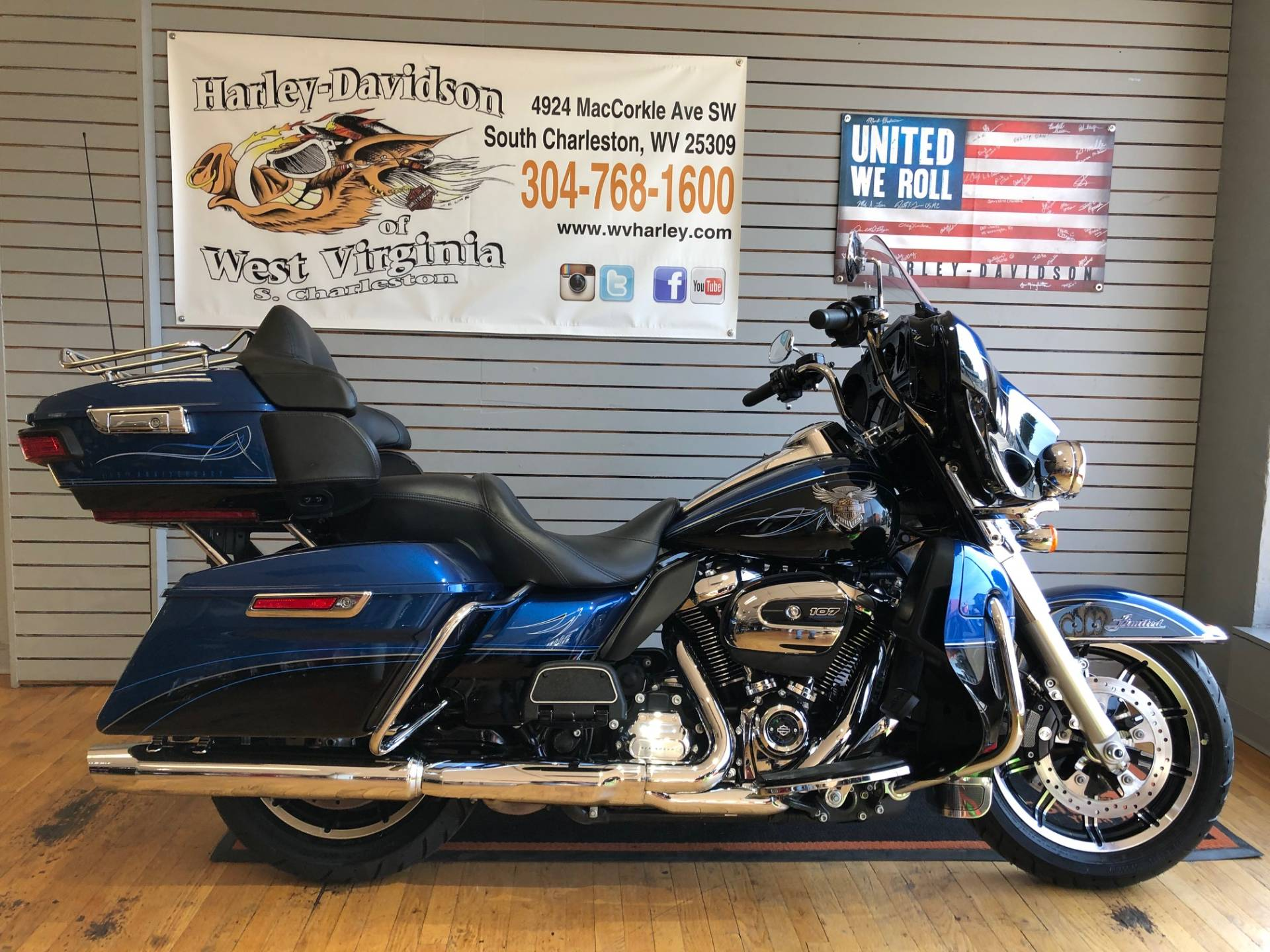 2018 Harley-Davidson 115th Anniversary Ultra Limited in South Charleston, West Virginia - Photo 1
