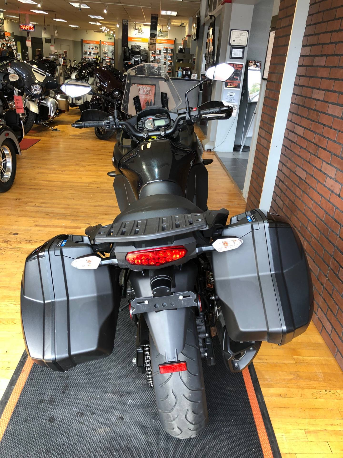 2015 Kawasaki Versys® 1000 LT in South Charleston, West Virginia - Photo 8