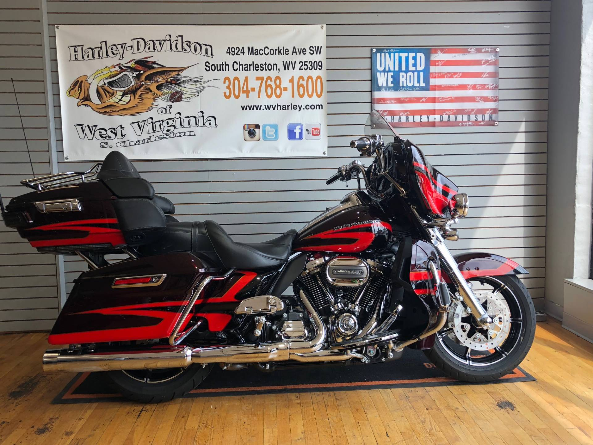 2017 Harley Davidson Cvo Limited In South Charleston West Virginia
