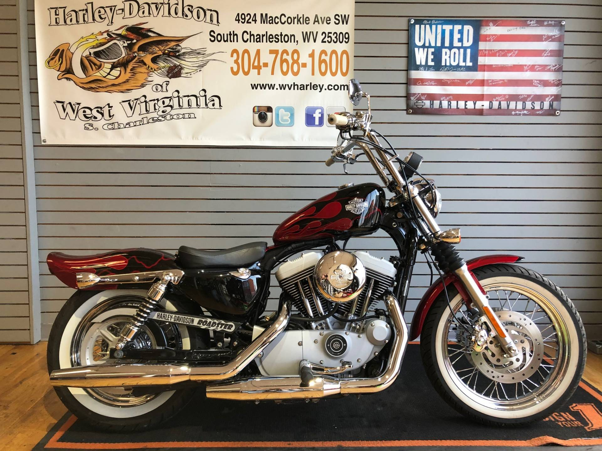 2004 Harley-Davidson Sportster® XL 1200 Roadster in South Charleston, West Virginia - Photo 1