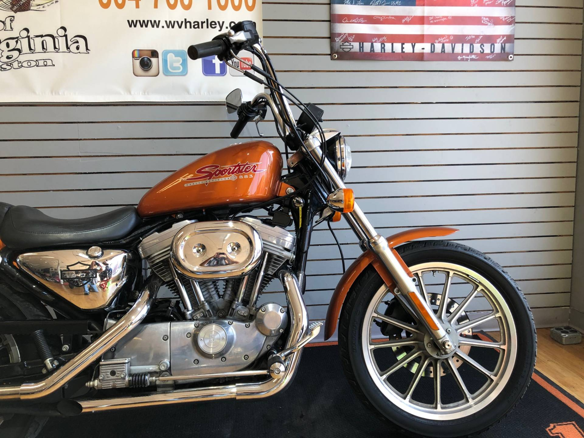 2000 Harley-Davidson XLH Sportster® 883 in South Charleston, West Virginia - Photo 2